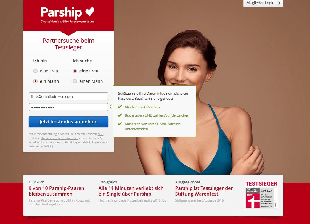 wieviel kostet parship